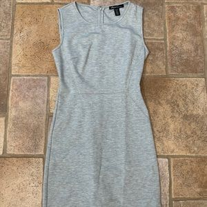 Kenneth Cole Form-Fitting Gray Dress